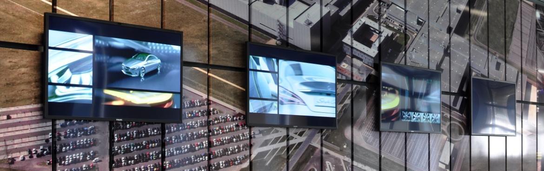 Spinetix HMP350 chez Mercedes